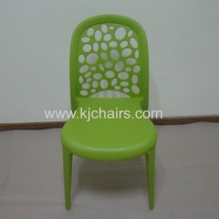 Modern New design leisure chair stackable plastic chair