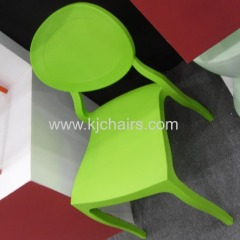 plastic ghost dining chair