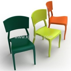 Fashion design pp plastic dining chair