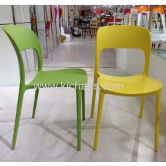 2014 latest style outdoor plastic dining chair