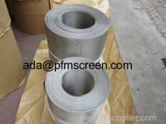 plastic extrusion filter screen belt