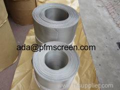 plastic extrusion filter screen belt