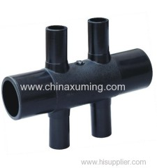 PE GSHP Six Ways Pipe Fittings
