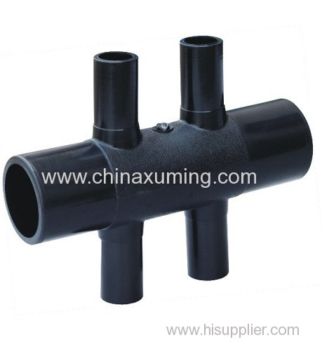 PE GSHP Five Ways Pipe Fittings