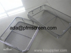 medical stainless steel wire mesh basket