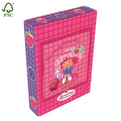 lovely strawberry BOX file FOLDERS