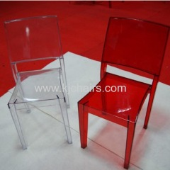 transparent Clear chair in China