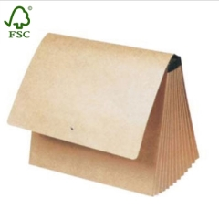 kraft paper clip File folders