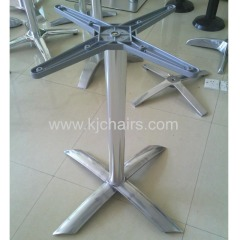aluminum 4-star table base