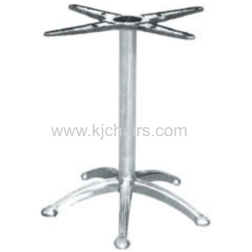 NEW stable aluminium table base polish table base