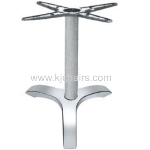 high quality aluminum table base for outdoor