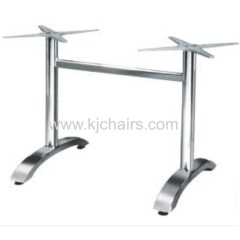 metal light design coffee outdoor aluminum table base