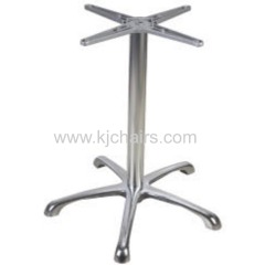 polishing aluminum alloy coffee table base