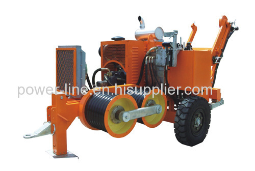 9 Ton Hydraulic Conductor Pullers For Overhead Line transmission