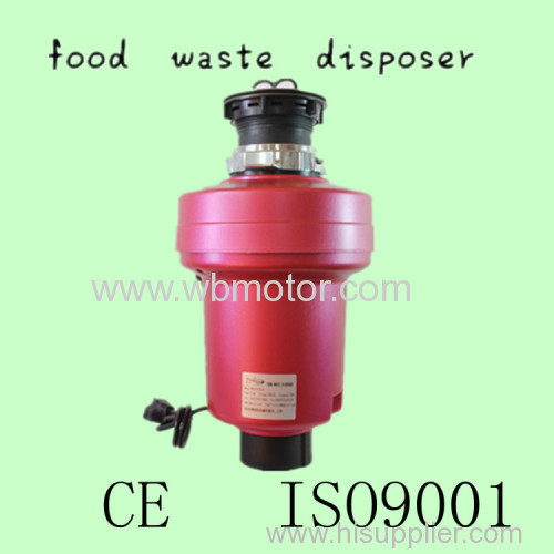 WB510A food waste disposer with CE ISO9001 in kitchen