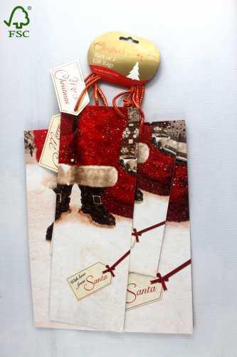 CHRISTMAS PAPER SHOPPING BAG