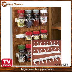 Spice clips set kitchen bottle rack plastic