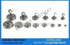 Different sizes Hook Ndfeb Magnets