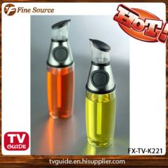 TV Pro. Press & Measure Oil & Vinegar Dispenser