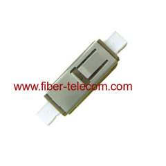 metallic fiber adapter with zirconia sleeve
