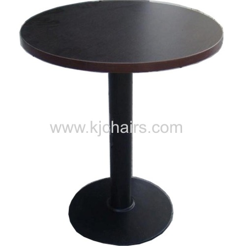SOLID WOOD TOP COSTA COFFEE DINING TABLE