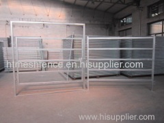 Galvanized Square Tube Horse Fence Panel
