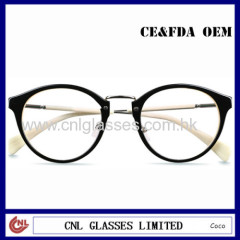 2014 Big Eye Front Lady Reading Glasses Fashion Optical Frame