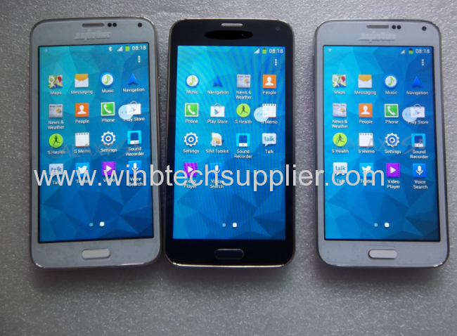 Newest Samsung galaxy s5 mobile phone copy android cell phonesmart