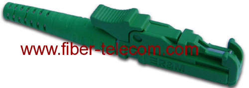 E2000/APC Optical Fiber Connector