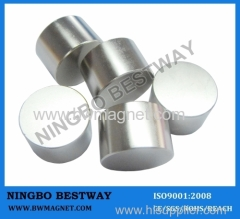 Permanent Cylinder NdFeB Magnet D45x15mm Ni coating