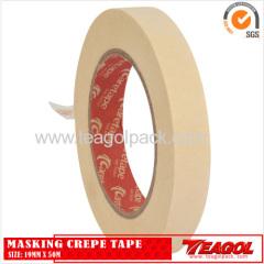 White Masking Crepe Tape 19mm x 50m/25mm x 50m/30mm x 50m/38mmx50m