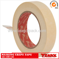 White Masking Crepe Tape 25mm x 50m