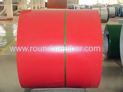 0.3X1000/1250mm prepainted steel coils different colors