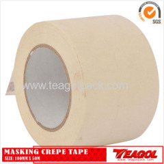White Masking Crepe Tape 100mm x 50m
