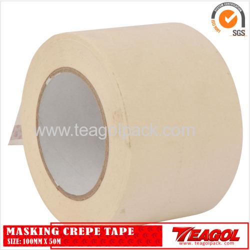 White Masking Crepe Tape 100mm x 50m