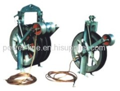 SHD660D Conductor Stringing Pulley Block with grounding devices