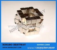 Small Neodymium Bar Magnet