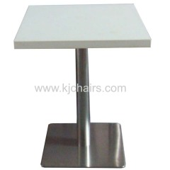 artificial stone restaurant table