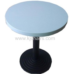 marble top cast iron durable dining table