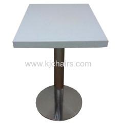 kfc fast food table
