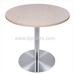 melamine fastfood restaurant dining table