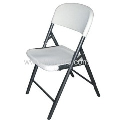 HDPE plastic folding chair