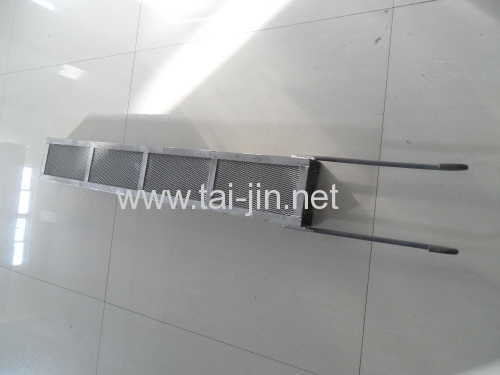 Gr1 titanium anode baskets for electroplating