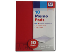 office A7 memo pads