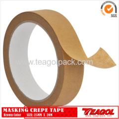 Креповая бумага коричневого цвета лента 25мм х 20м