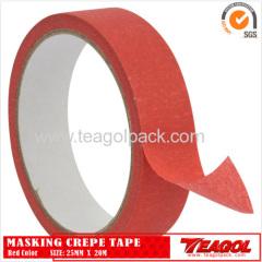 Креп-бумага, лента красного цвета 25мм х 20м
