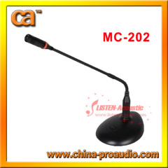Unidirectional Audio Accessories wired Microphone MC-202