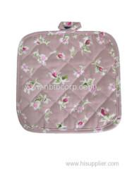 flower pink Pot holder