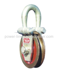 3T to 15Tons Hanging Point Pulley Block