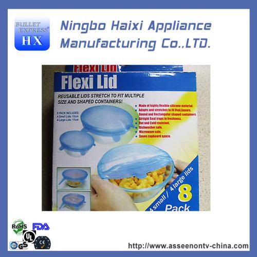 Airtight Multi-Functional Eco-Friendly Silicone Jar Lids